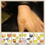 factory price e46de f2ae2 Waterproof Different Funny Facial Expression Cartoon Temporary Tattoos  Stickers